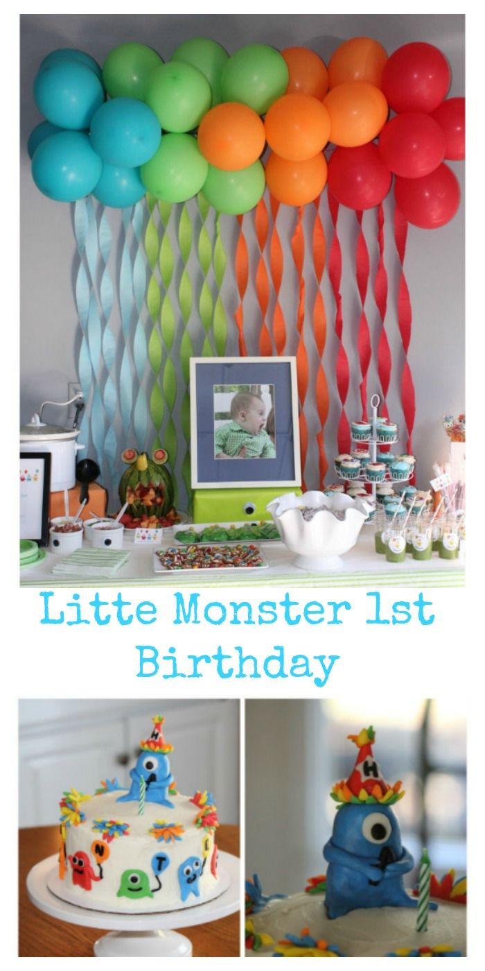 Best ideas about First Birthday Decorations Boys . Save or Pin Hunter s first birthday couldn t have gone any better The Now.