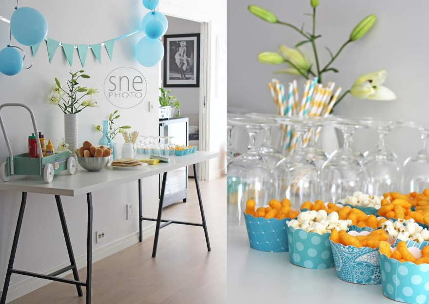 Best ideas about First Birthday Decorations For Boys . Save or Pin 12 1st birthday party supplies boy Now.