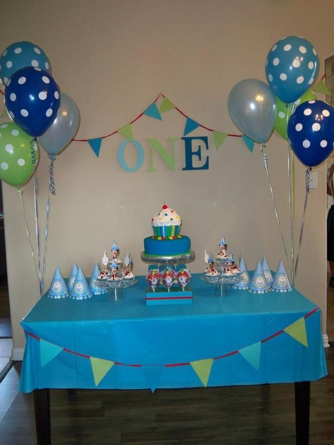 Best ideas about First Birthday Decorations For Boys . Save or Pin 1000 ideas about Simple First Birthday on Pinterest Now.