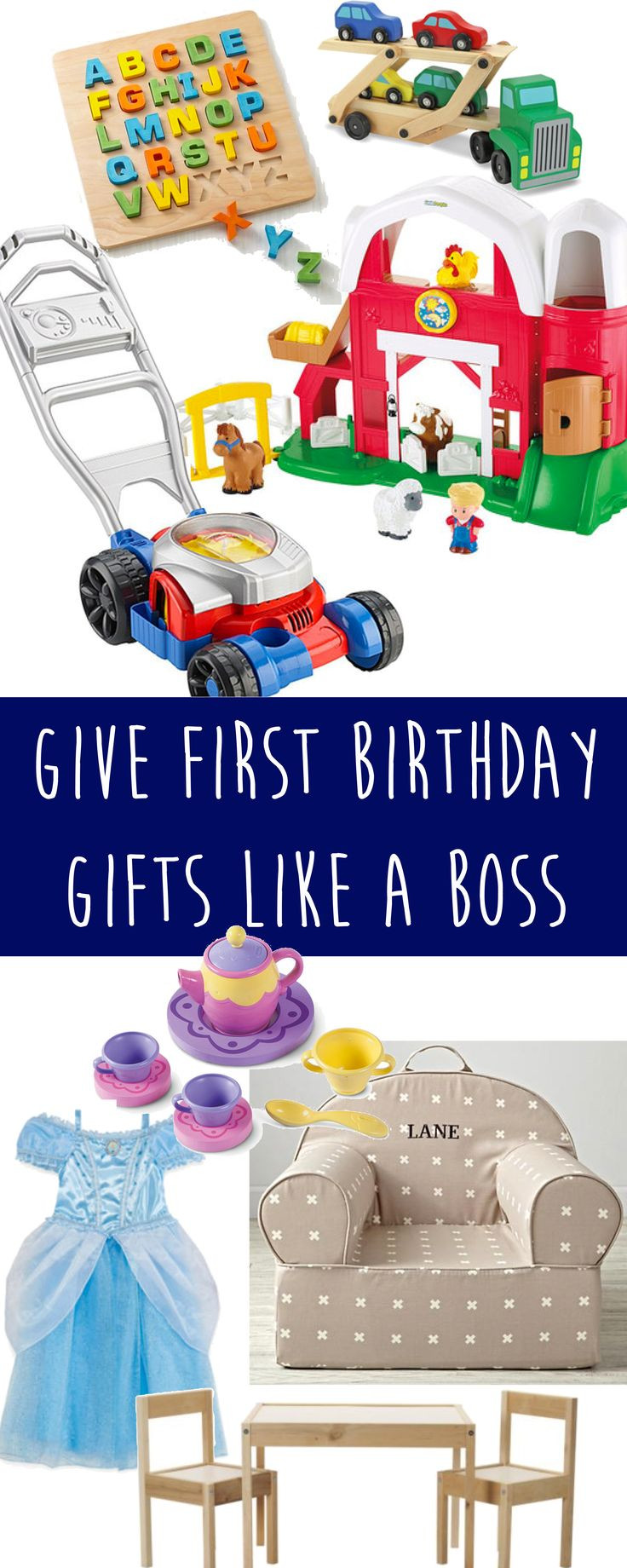 Best ideas about First Birthday Gift Ideas . Save or Pin 25 Best Ideas about First Birthday Gifts on Pinterest Now.