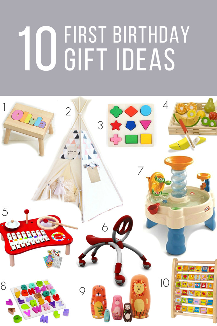 Best ideas about First Birthday Gift Ideas . Save or Pin first birthday t ideas for girls or boys … Now.