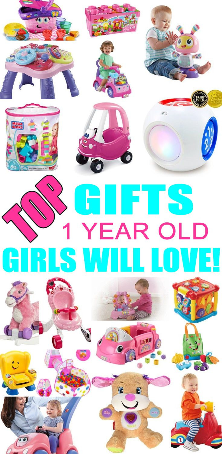 Best ideas about First Birthday Gift Ideas . Save or Pin Best Gifts for 1 Year Old Girls Now.