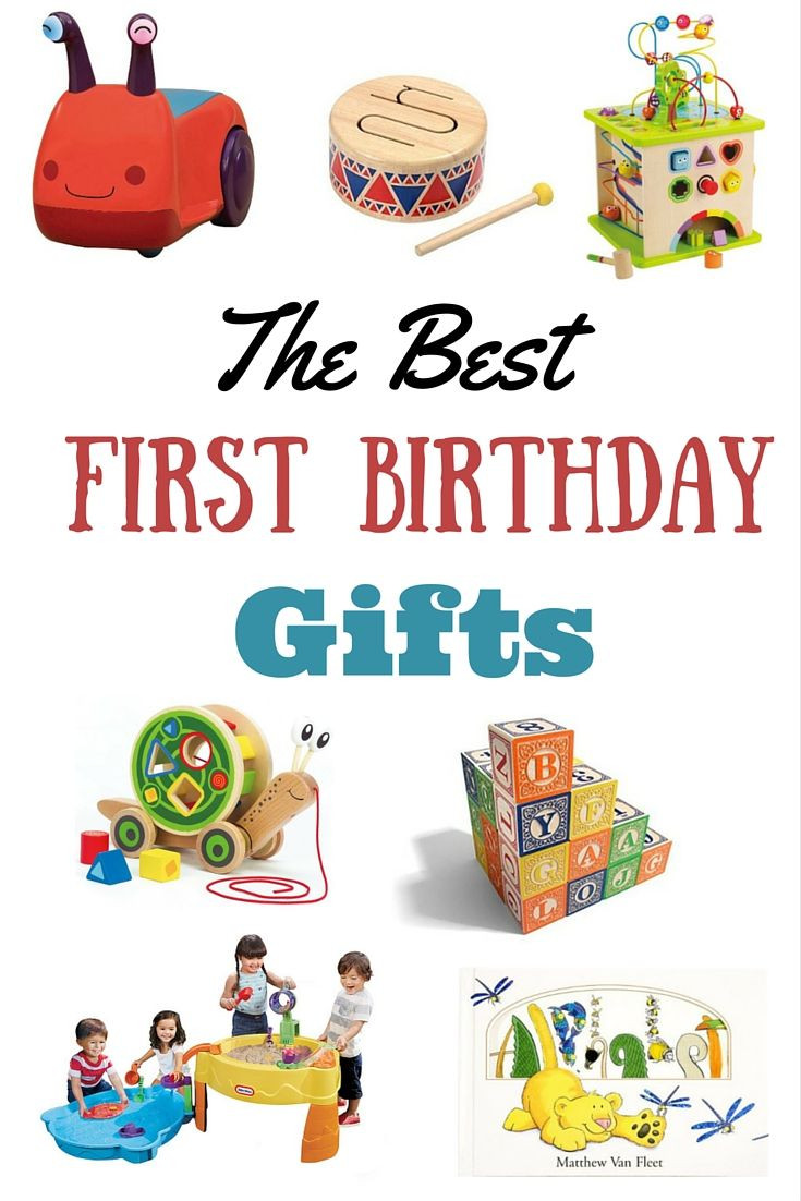 Best ideas about First Birthday Gift Ideas . Save or Pin The Best Birthday Gifts for a First Birthday a Giveaway Now.