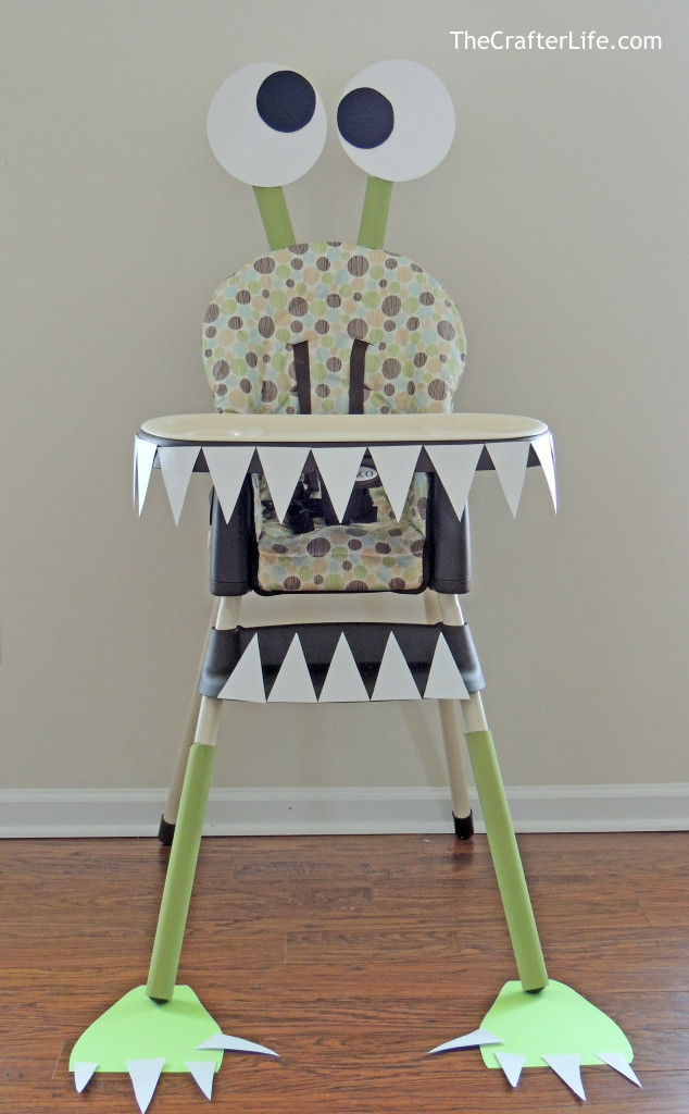 Best ideas about First Birthday Highchair Decorations . Save or Pin DIY Monster High Chair The Crafter Life Now.