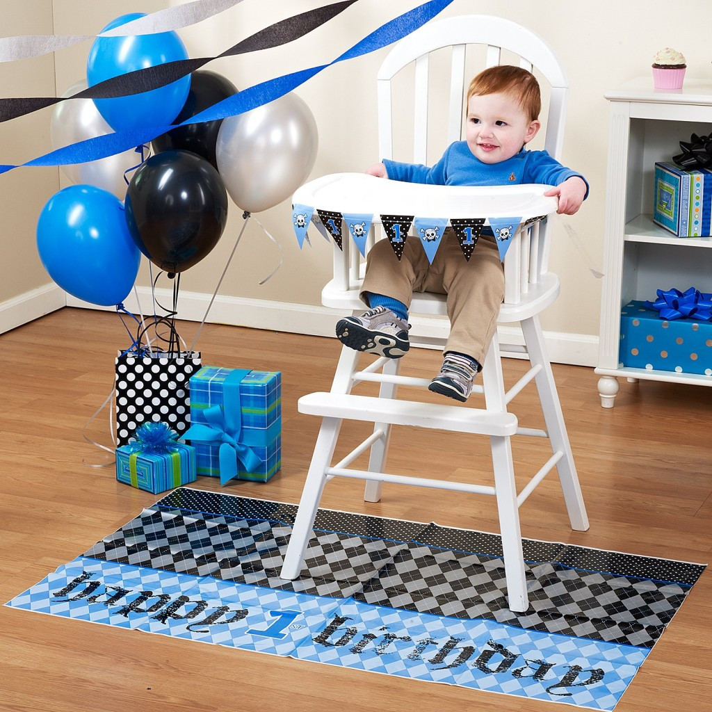 Best ideas about First Birthday Highchair Decorations . Save or Pin Boys 1st Birthday Lil Rebel High Chair Decor Kit & Bib Now.
