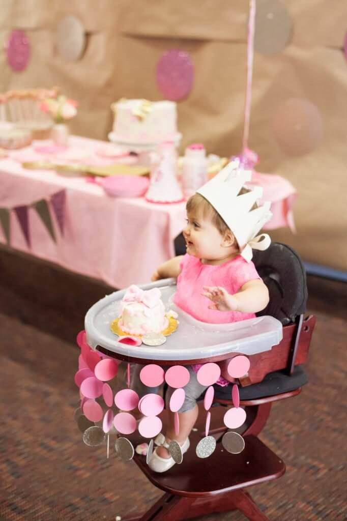 Best ideas about First Birthday Highchair Decorations . Save or Pin 12 First Birthday High Chair Decoration Ideas Now.