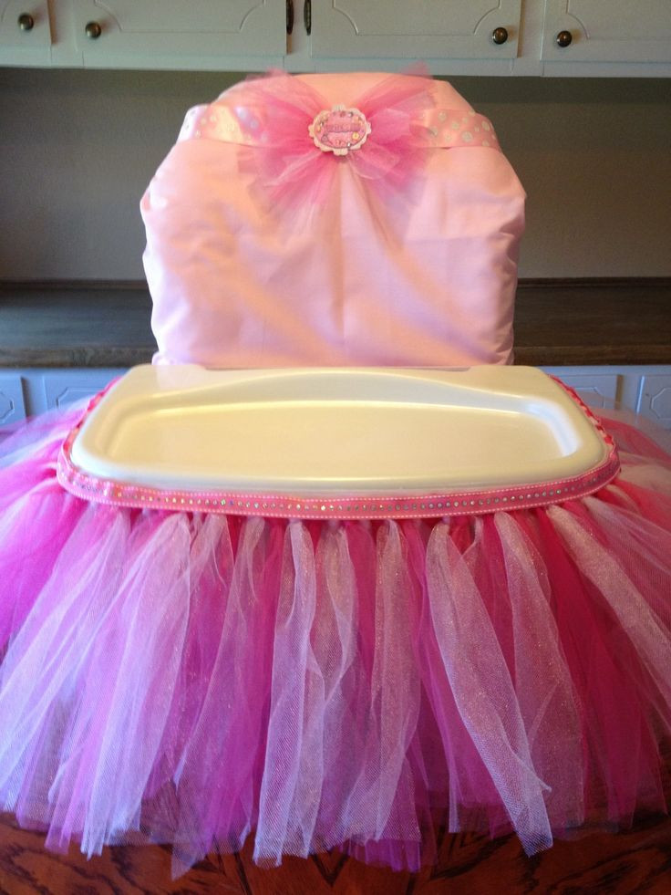 Best ideas about First Birthday Highchair Decorations . Save or Pin Pin by Virginia Aleman on Princess 1st birthday in 2019 Now.