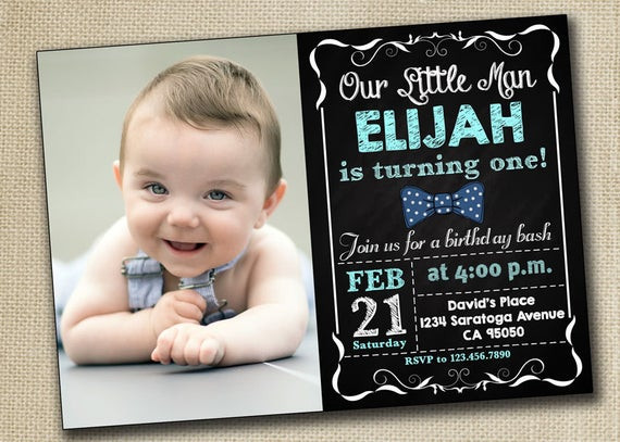 Best ideas about First Birthday Invitations Boy . Save or Pin Baby Boy Girl First Birthday Invitation 1st by PrintablesToYou Now.