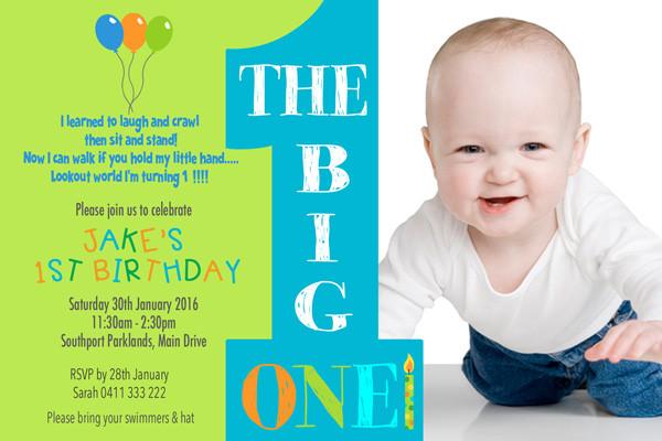 Best ideas about First Birthday Invitations Boy . Save or Pin Birthday Invitations Australia Boy Birthday Party Now.