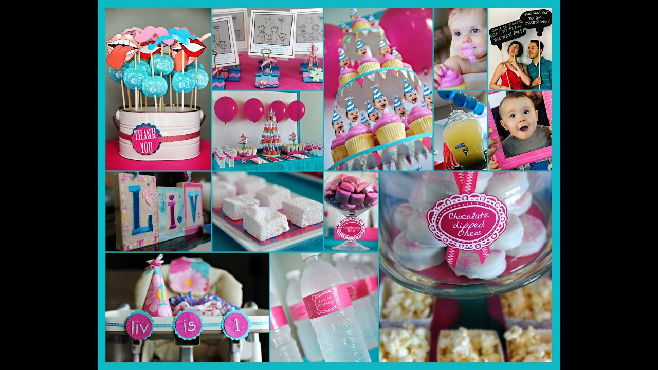 Best ideas about First Birthday Party Decor . Save or Pin first birthday party ideas 1st birthday party ideas Now.