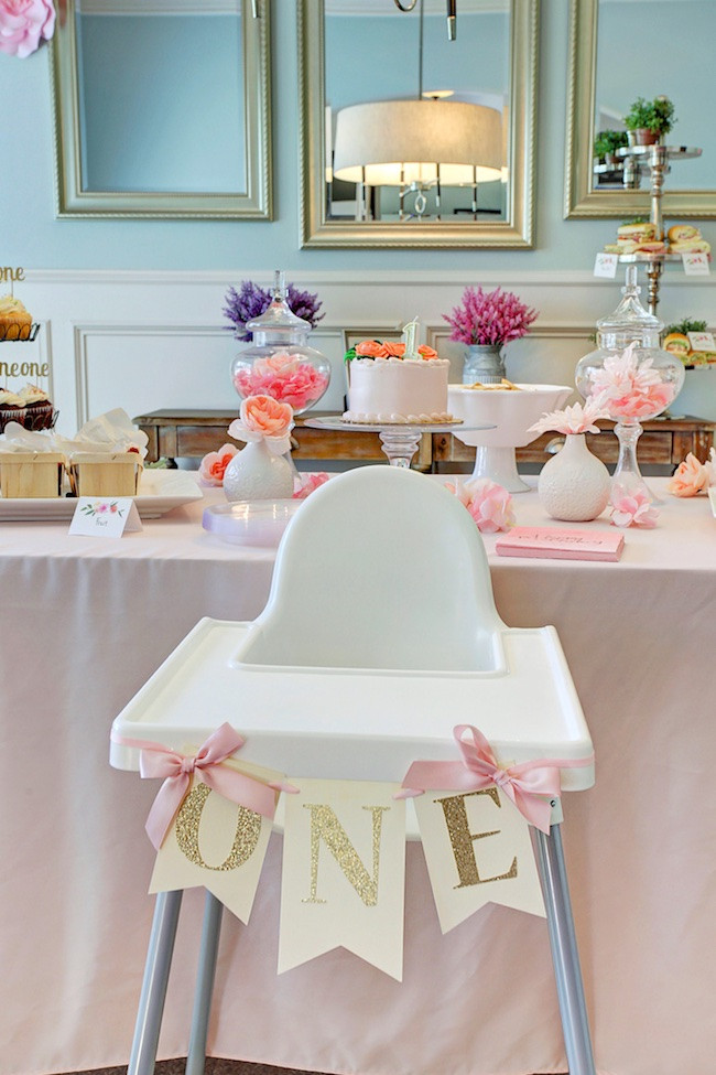 Best ideas about First Birthday Party Decor . Save or Pin Honey We re Home Jordan s First Birthday Party A Garden Now.