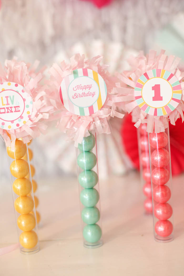 Best ideas about First Birthday Party Favors . Save or Pin e is Fun Birthday Party Project Nursery Now.