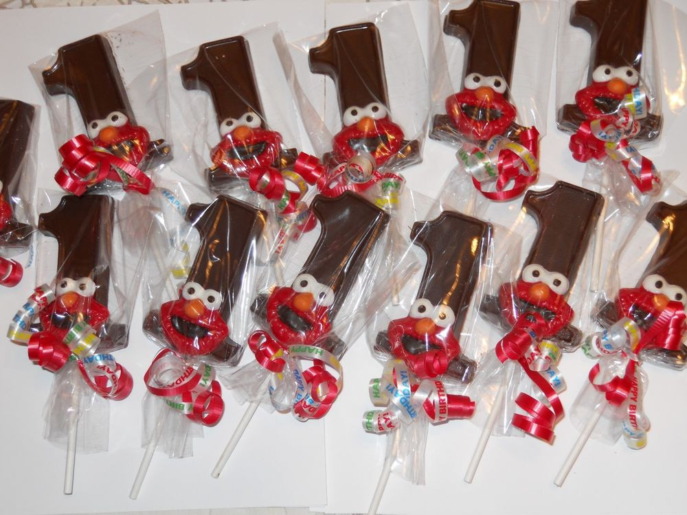 Best ideas about First Birthday Party Favors . Save or Pin 28 Sesame Street Elmo 1st Birthday Kids Party Favors Treat Now.