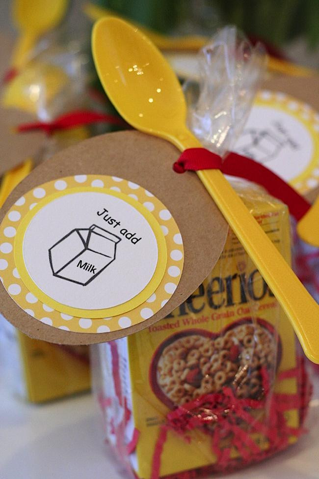 Best ideas about First Birthday Party Favors . Save or Pin Kara s Party Ideas Cheerios themed First Birthday Party Now.