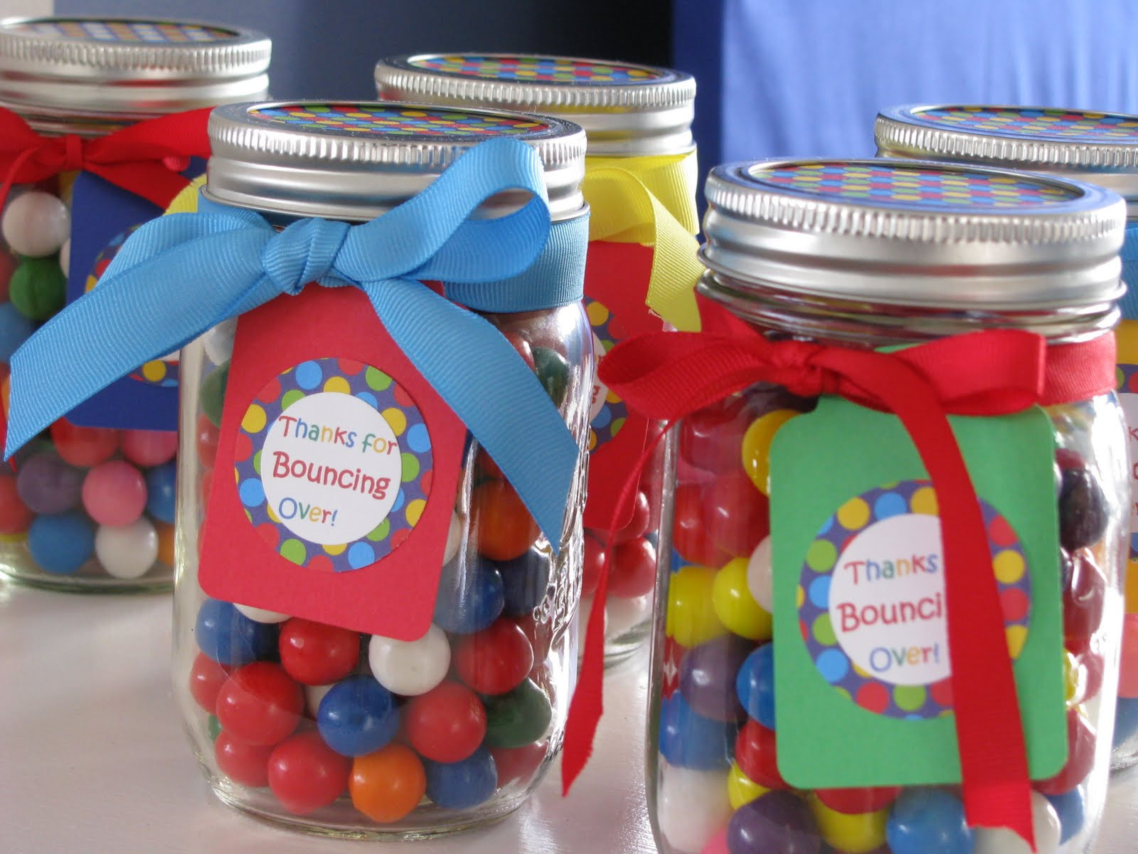 Best ideas about First Birthday Party Favors . Save or Pin Sheek Shindigs A Bouncing Baby Boy s 1st Birthday Celebration Now.