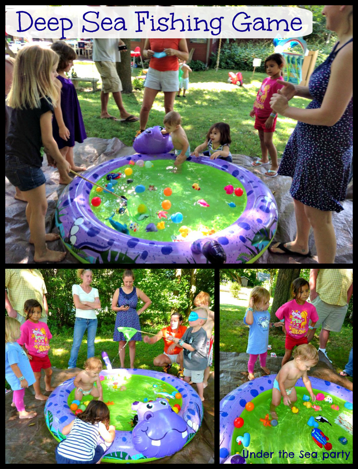 Best ideas about First Birthday Party Game . Save or Pin The Everyday Momma First Birthday Under the Sea Games Now.