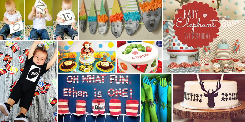 Best ideas about First Birthday Party Themes Boys . Save or Pin 1st Birthday Party Ideas Now.