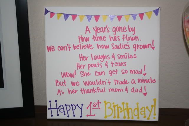 Best ideas about First Birthday Quotes . Save or Pin Cute 1st Birthday Quotes QuotesGram Now.