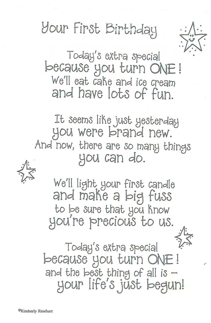 Best ideas about First Birthday Quotes . Save or Pin 1000 First Birthday Quotes on Pinterest Now.