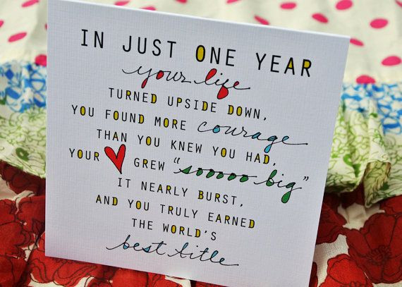 Best ideas about First Birthday Quotes . Save or Pin Best 25 First birthday cards ideas on Pinterest Now.