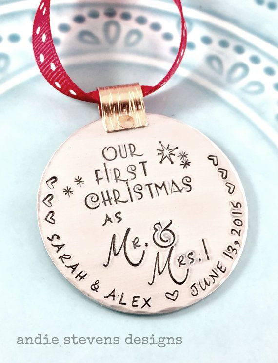 Best ideas about First Christmas Together Gift Ideas . Save or Pin 1000 ideas about First Christmas Married on Pinterest Now.