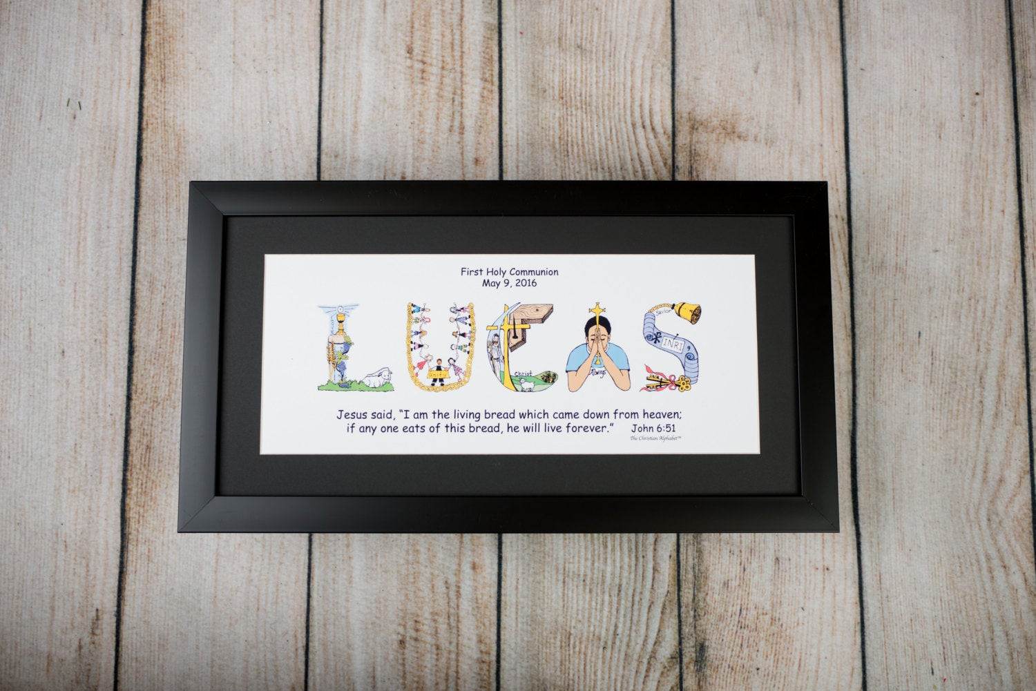 Best ideas about First Communion Gift Ideas Boys . Save or Pin Personalized First munion Gift for Boys and Girls with Now.