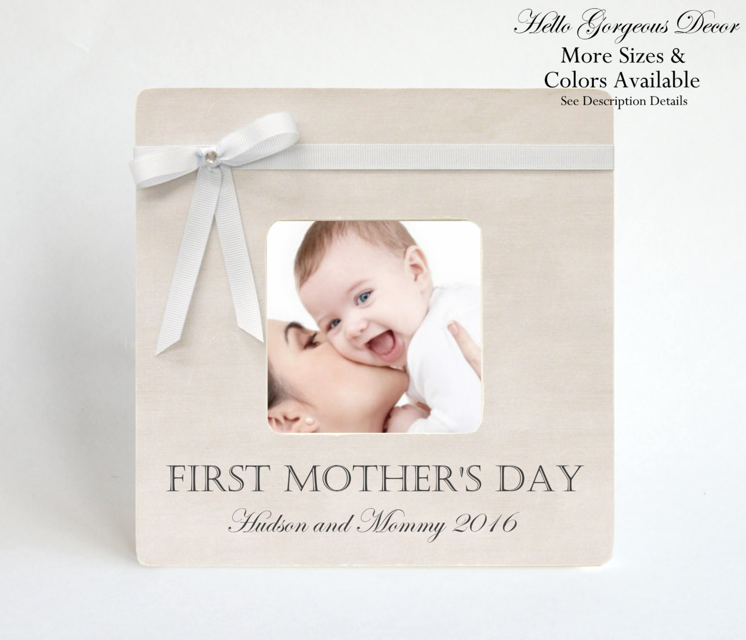 Best ideas about First Mothers Day Gift Ideas . Save or Pin Mother s Day Gift FIRST MOTHER S DAY Picture Frame To Mom Now.