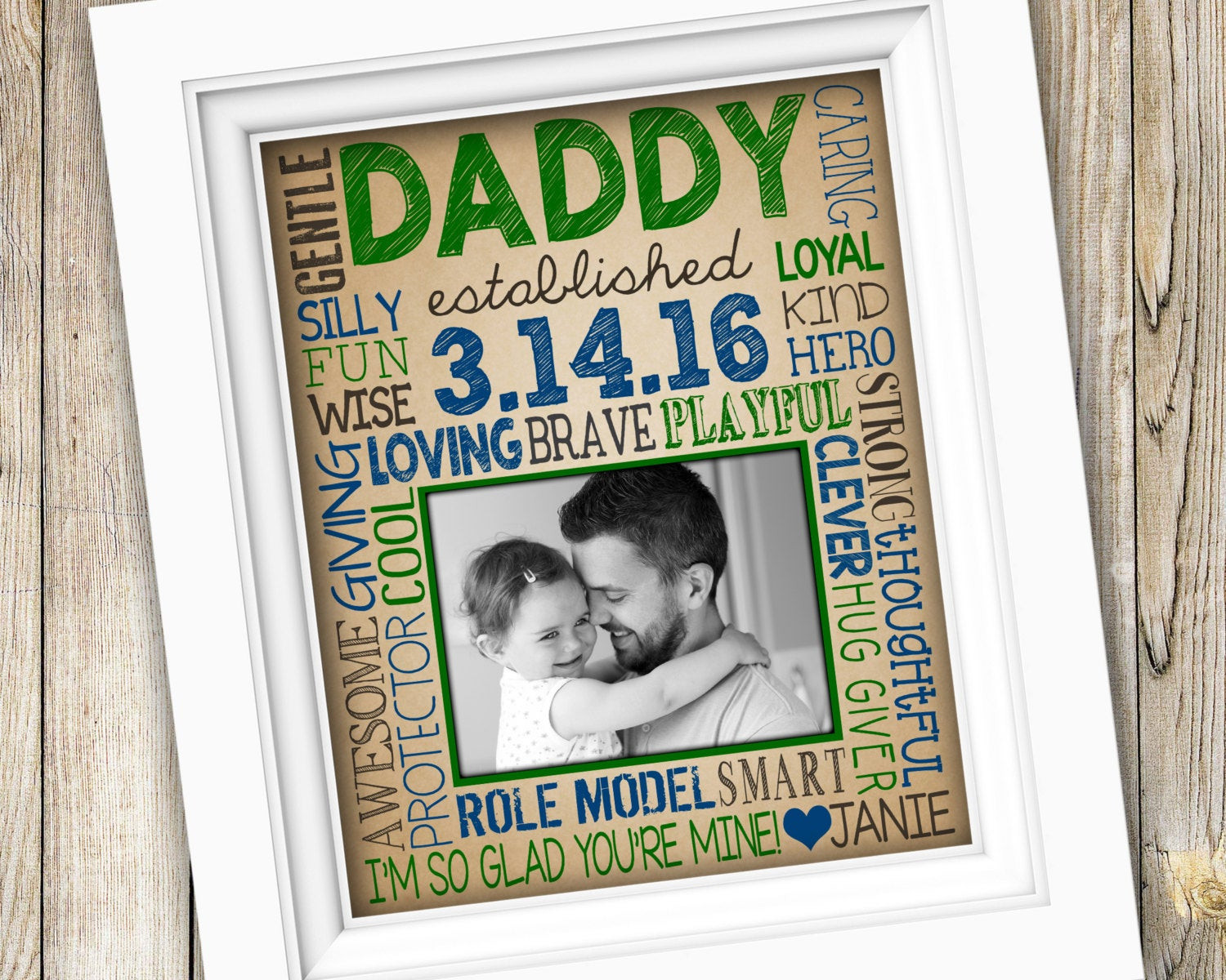 Best ideas about First Time Dad Fathers Day Gift Ideas . Save or Pin First Time Dad Gift New Dad Gift for Daddy First Now.