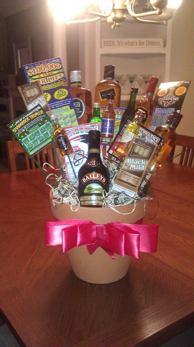 Best ideas about First Valentine'S Day Gift Ideas For Him . Save or Pin cute t basket idea for guys for his birthday or Now.