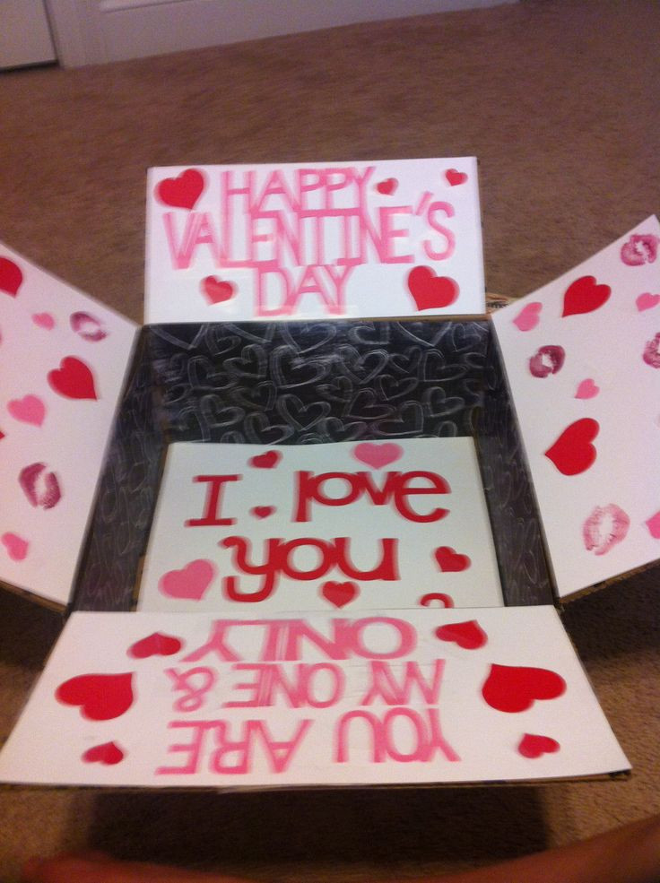 Best ideas about First Valentine'S Day Gift Ideas For Him . Save or Pin Valentine care package Deployment Now.