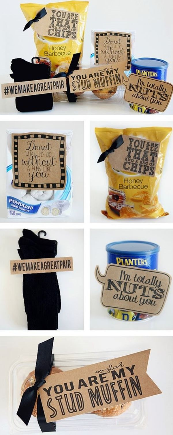 Best ideas about First Valentine'S Day Gift Ideas For Him . Save or Pin 25 best images about Homemade Boyfriend Gifts on Pinterest Now.