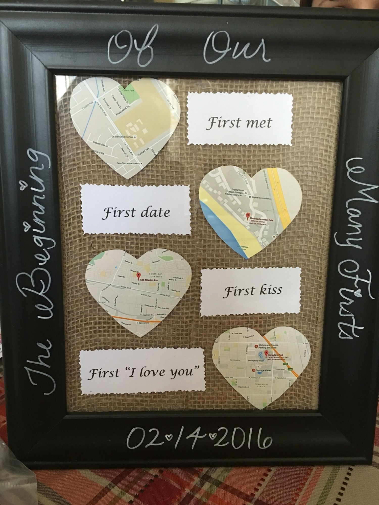 Best ideas about First Valentine'S Day Gift Ideas For Him . Save or Pin 37 Creative & Easy DIY Shadow Box to Surprise Beloved Now.