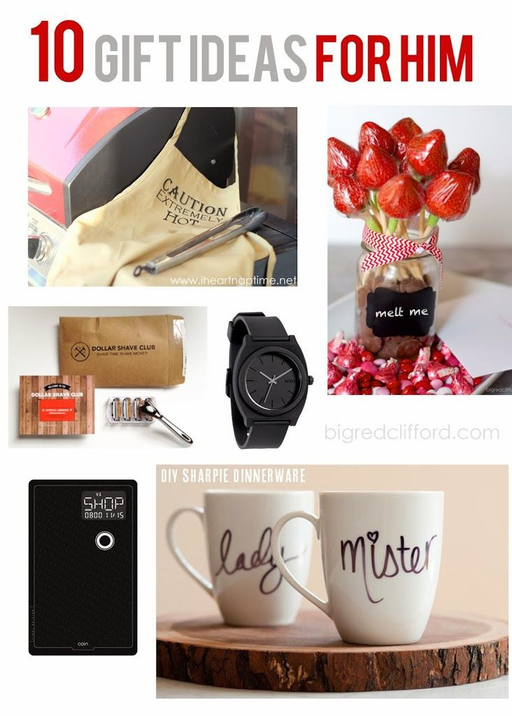 Best ideas about First Valentine'S Day Gift Ideas For Him . Save or Pin For him Valentines and Gift ideas on Pinterest Now.
