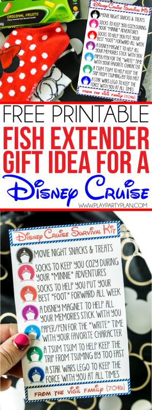 Best ideas about Fish Extender Gift Ideas . Save or Pin The Cutest Disney Fish Extender Gifts with Free Printable Tags Now.