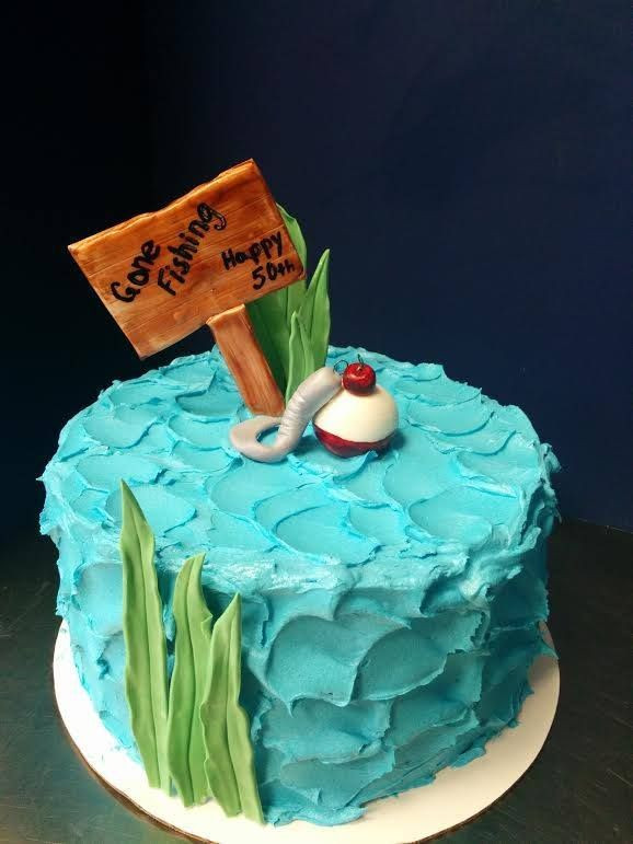 Best ideas about Fishing Birthday Cake . Save or Pin 25 best ideas about Fishing Birthday Cakes on Pinterest Now.