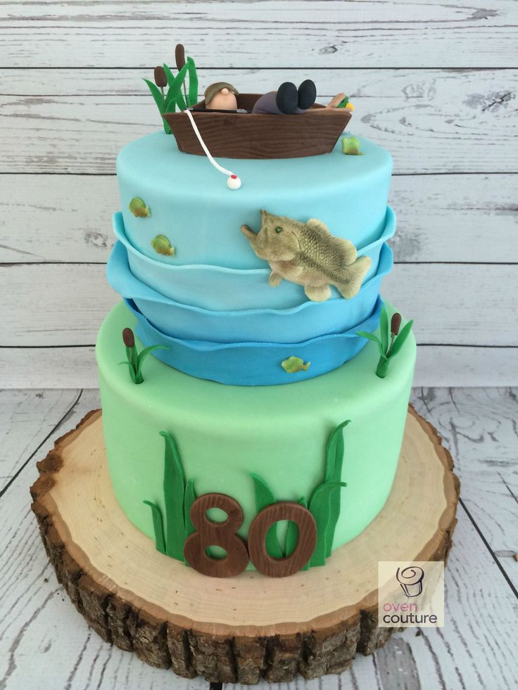 Best ideas about Fishing Birthday Cake . Save or Pin 25 best ideas about Fisherman cake on Pinterest Now.