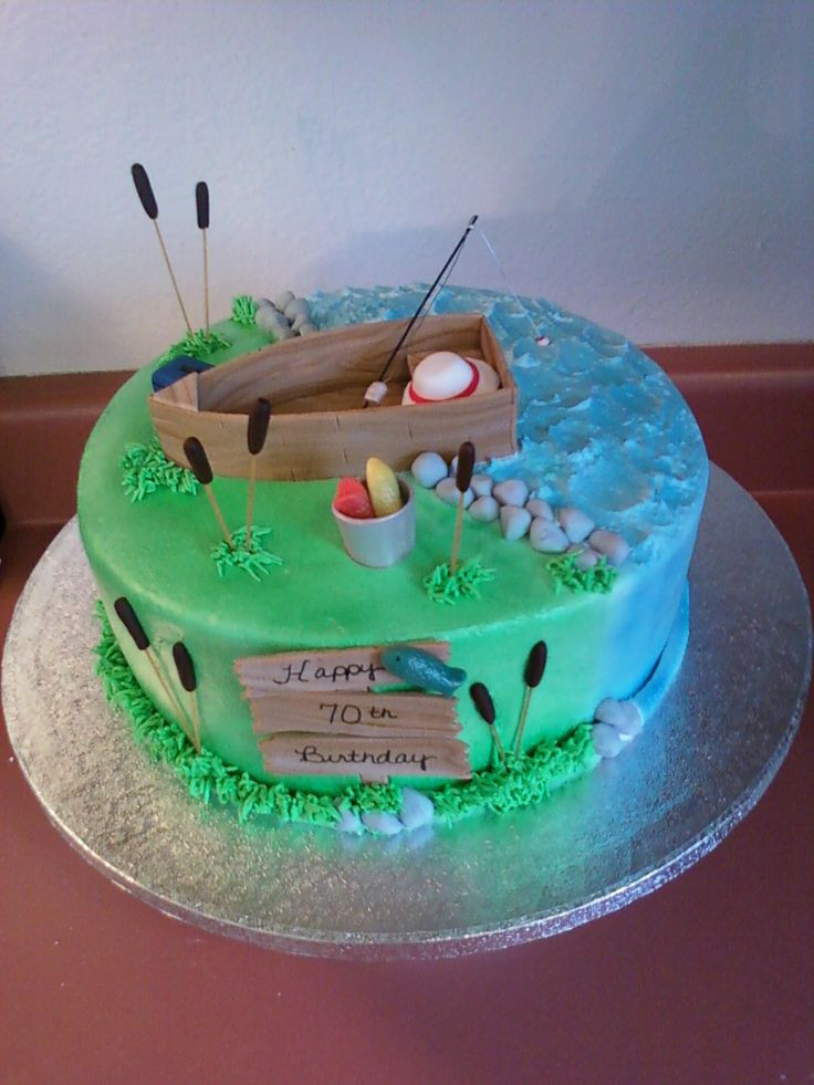 Best ideas about Fishing Birthday Cake . Save or Pin Best 20 Fishing cakes ideas on Pinterest Now.