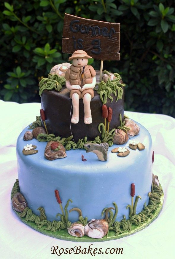 Best ideas about Fishing Birthday Cake . Save or Pin Southern Blue Celebrations Fishing Cake Ideas & Inspirations Now.