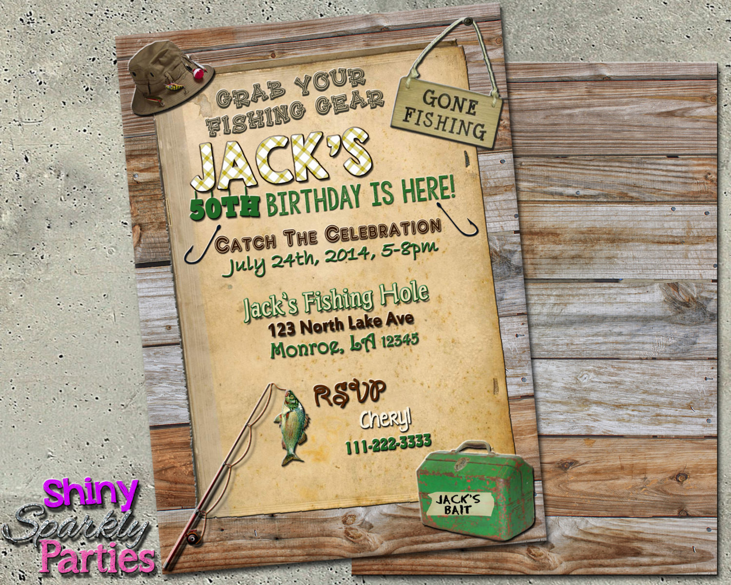 Best ideas about Fishing Birthday Invitations . Save or Pin FISHING BIRTHDAY INVITATION Fishing Invitations Fishing Now.