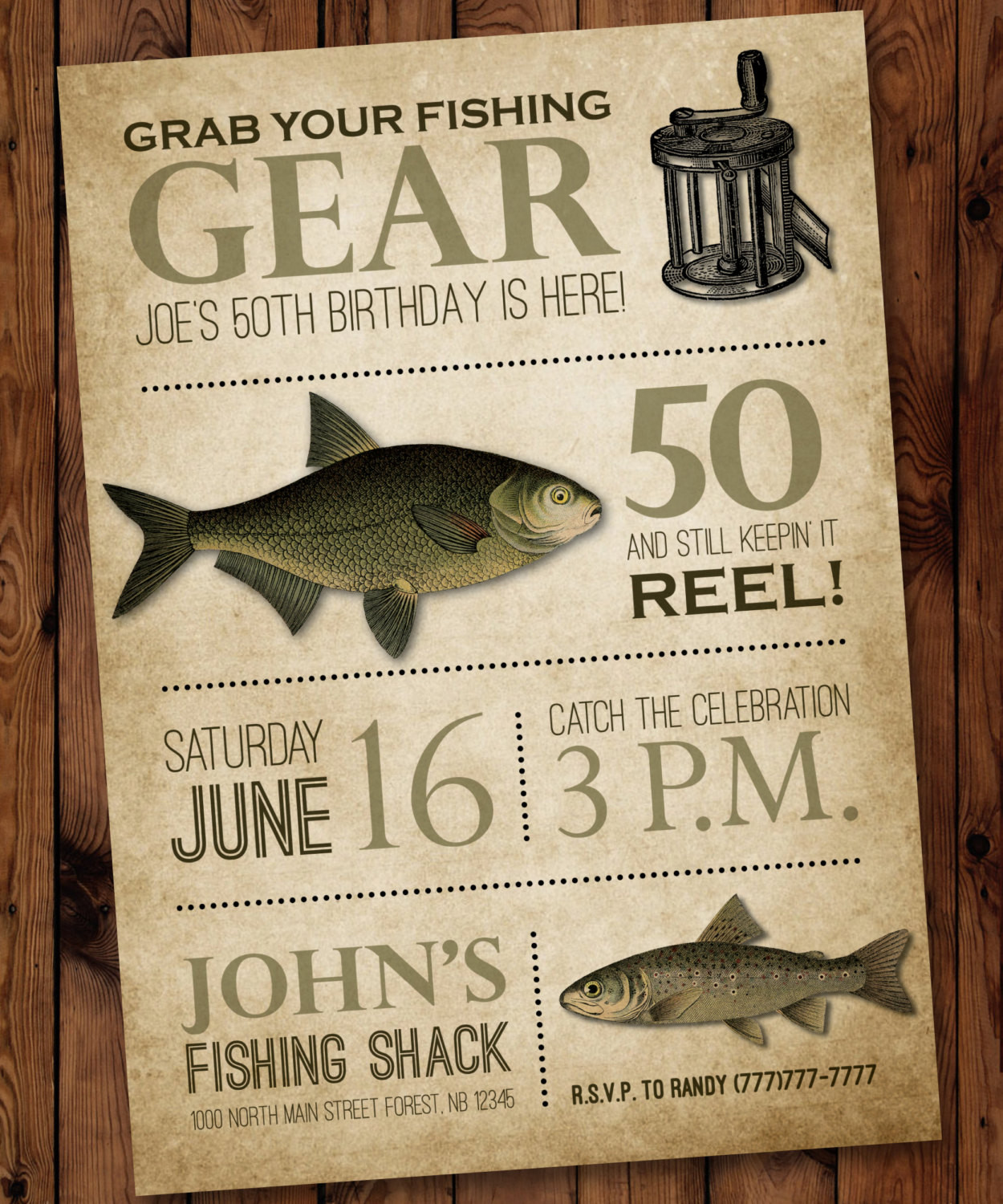 Best ideas about Fishing Birthday Invitations . Save or Pin Fishing Birthday Invitation Male Birthday Invitation Fishing Now.