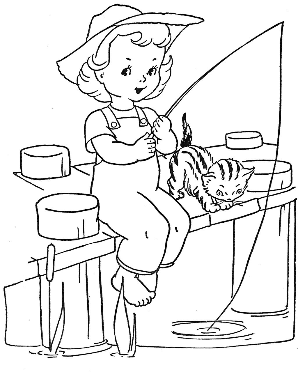 Best ideas about Fishing Printable Coloring Pages . Save or Pin Fishing Coloring Pages Best Coloring Pages For Kids Now.