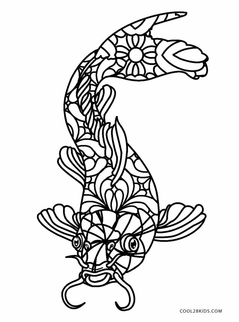Best ideas about Fishing Printable Coloring Pages . Save or Pin Free Printable Fish Coloring Pages For Kids Now.