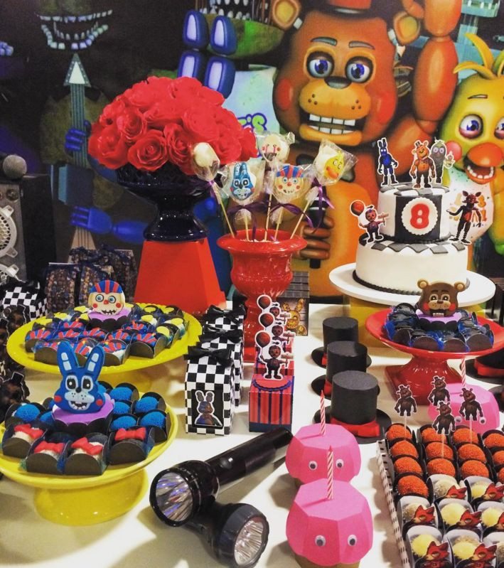 Best ideas about Five Nights At Freddy's Birthday Party Decorations . Save or Pin Ideas decoración y manualidades para fiestas Five Nights Now.