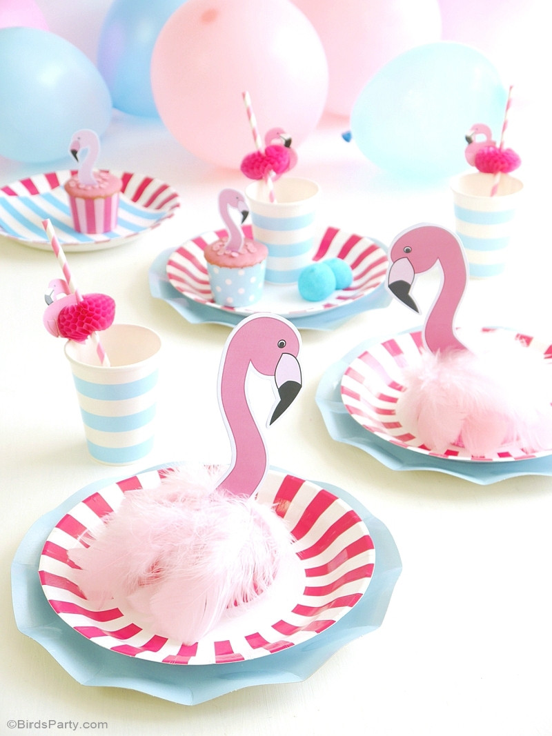Best ideas about Flamingo Birthday Party . Save or Pin Flamingo Pool Party Ideas & Printables Party Ideas Now.