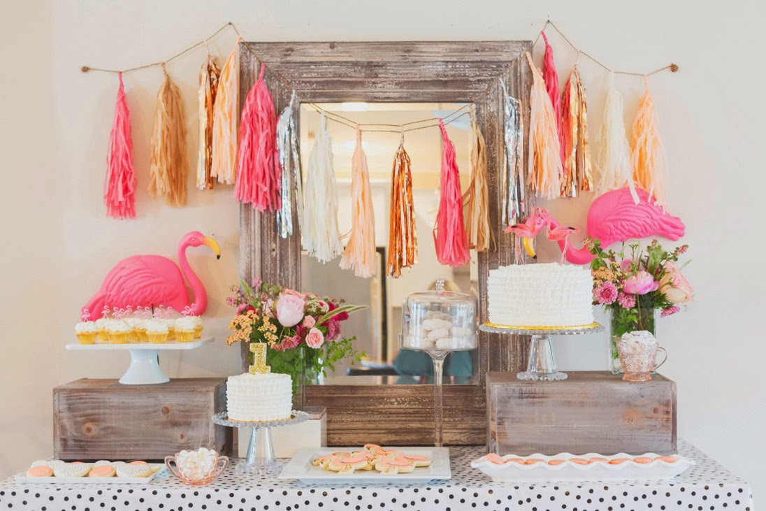 Best ideas about Flamingo Birthday Party . Save or Pin Sweet Little Nursery Flamingo Themed Birthday Party Now.