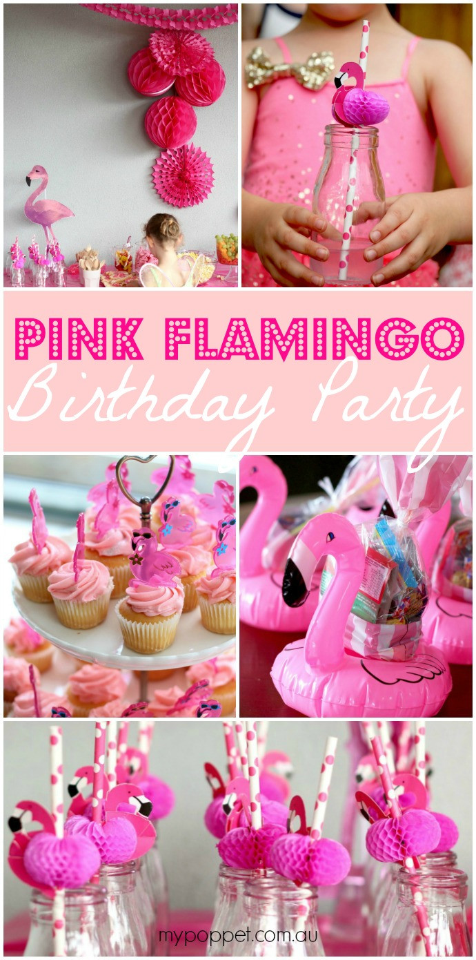 Best ideas about Flamingo Birthday Party . Save or Pin Eva s Pink Flamingo Birthday Party Now.