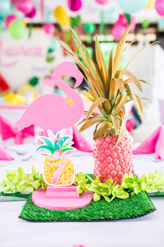 Best ideas about Flamingo Birthday Party . Save or Pin Kara s Party Ideas Chic Flamingo Birthday Party Now.