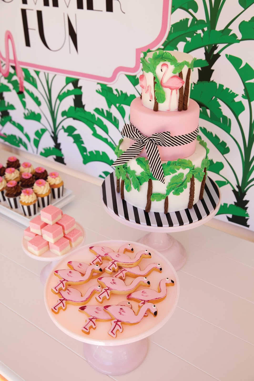 Best ideas about Flamingo Birthday Party . Save or Pin A Palm Beach Chic Flamingo Party The Glam Pad Now.