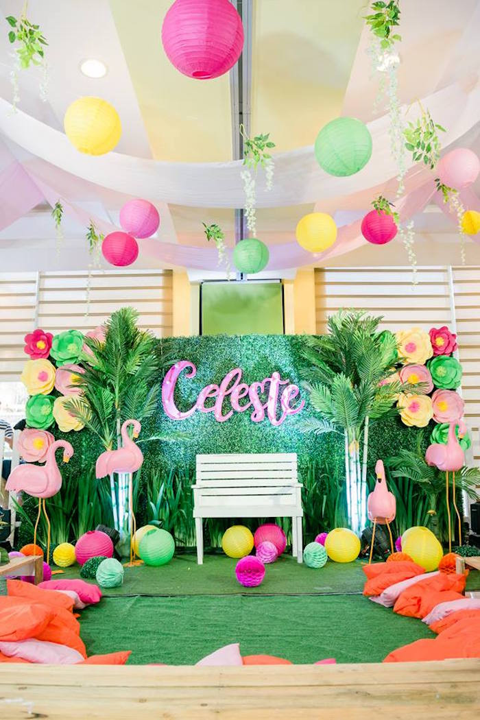 Best ideas about Flamingo Birthday Party . Save or Pin Kara s Party Ideas Fabulous Flamingo Birthday Party Now.