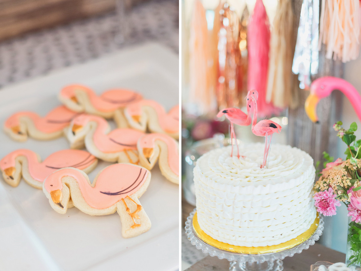 Best ideas about Flamingo Birthday Party . Save or Pin Juliet's First Birthday – A Flamingo Party – Cute & Co Now.